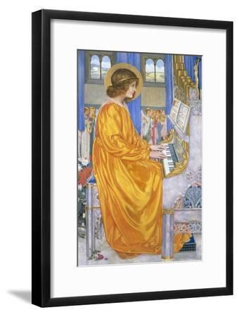 St Cecilia-Kate Elizabeth Bunce-Framed Giclee Print