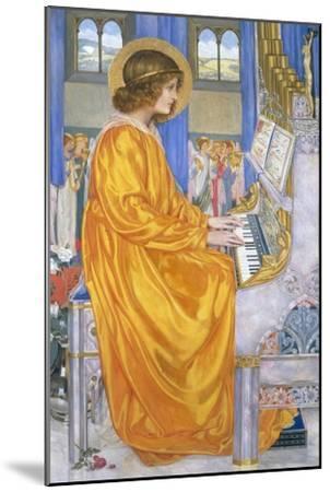 St Cecilia-Kate Elizabeth Bunce-Mounted Giclee Print