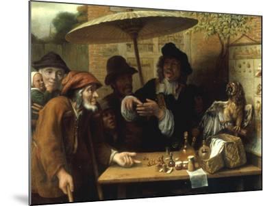 Peasants Listening to a Quack Doctor, 1668-Lambert Doomer-Mounted Giclee Print