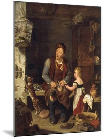 The Cobbler, 1839-Alexander Fraser-Mounted Giclee Print