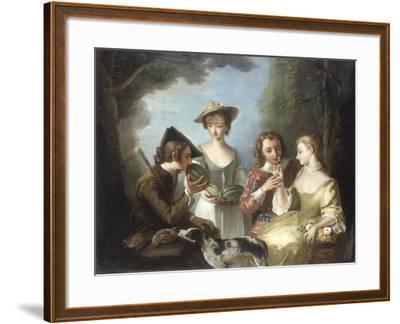 Smell-Philip Mercier-Framed Giclee Print