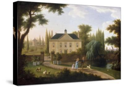 A Walk in the Park-Franz Swagers-Stretched Canvas Print