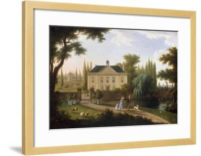 A Walk in the Park-Franz Swagers-Framed Giclee Print