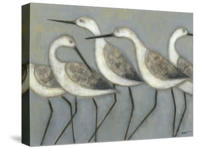Shore Birds I-Norman Wyatt Jr^-Stretched Canvas Print