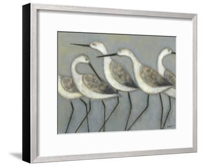 Shore Birds I-Norman Wyatt Jr^-Framed Premium Giclee Print
