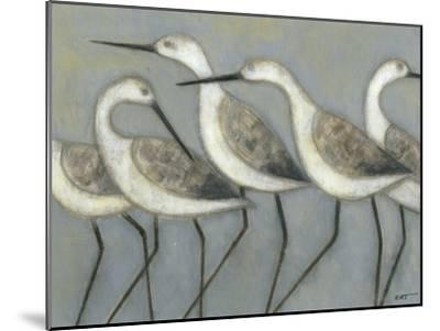 Shore Birds I-Norman Wyatt Jr^-Mounted Premium Giclee Print