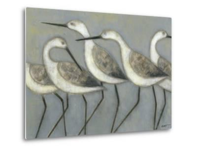 Shore Birds I-Norman Wyatt Jr^-Metal Print