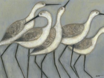 Shore Birds II-Norman Wyatt Jr^-Framed Premium Giclee Print