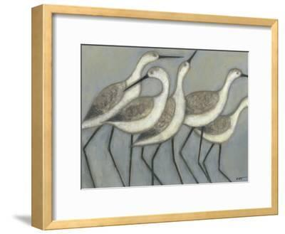Shore Birds II-Norman Wyatt Jr^-Framed Premium Giclee Print