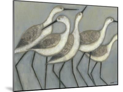 Shore Birds II-Norman Wyatt Jr^-Mounted Premium Giclee Print