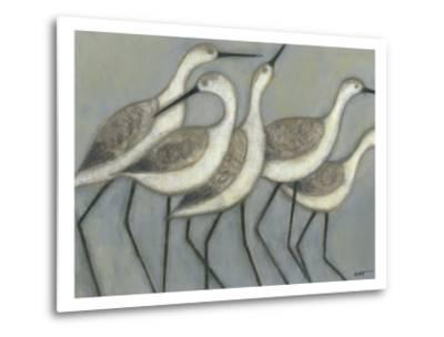 Shore Birds II-Norman Wyatt Jr^-Metal Print