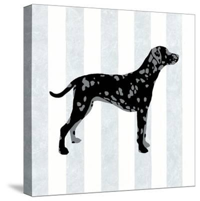 Dalmation in Neutral-Christine Lucas-Stretched Canvas Print