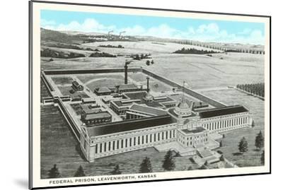 Federal Prison, Leavenworth, Kansas--Mounted Art Print