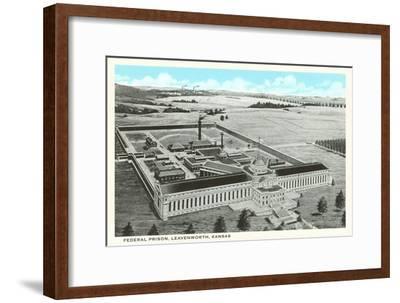 Federal Prison, Leavenworth, Kansas--Framed Art Print