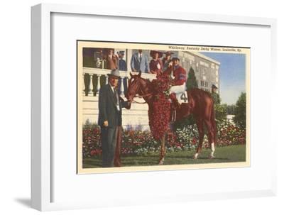Whirlaway, Kentucky Derby Winner--Framed Art Print