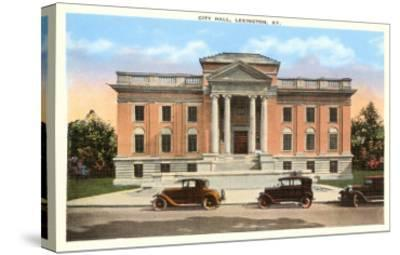 City Hall, Lexington, Kentucky--Stretched Canvas Print