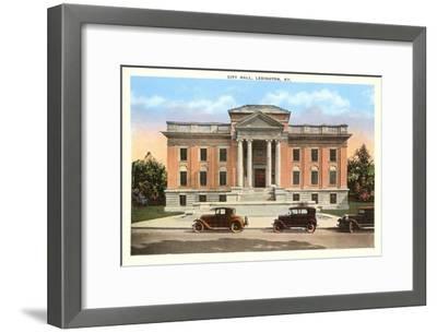 City Hall, Lexington, Kentucky--Framed Art Print