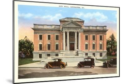 City Hall, Lexington, Kentucky--Mounted Art Print