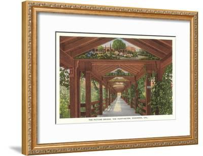 Huntington Library Grounds, San Marino, California--Framed Art Print