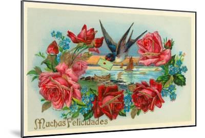 Congratulations, Muchas Felicidades--Mounted Art Print