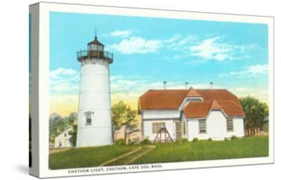 Chatham Lighthouse, Cape Cod, Mass.--Stretched Canvas Print