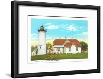 Chatham Lighthouse, Cape Cod, Mass.--Framed Art Print