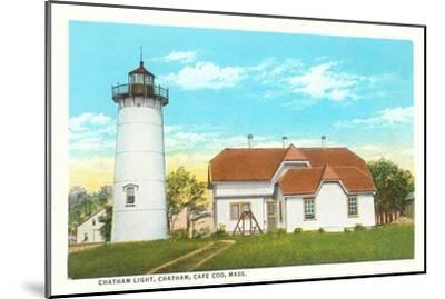 Chatham Lighthouse, Cape Cod, Mass.--Mounted Art Print