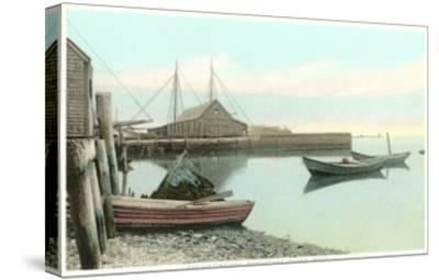 Harbor, Nantucket, Mass.--Stretched Canvas Print