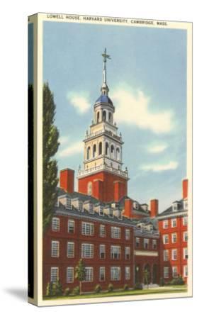 Lowell House, Harvard University, Cambridge, Mass.--Stretched Canvas Print
