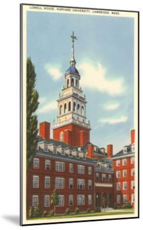 Lowell House, Harvard University, Cambridge, Mass.--Mounted Art Print