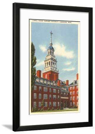 Lowell House, Harvard University, Cambridge, Mass.--Framed Art Print