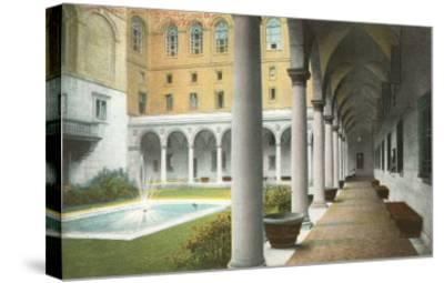 Public Library, Boston, Mass.--Stretched Canvas Print