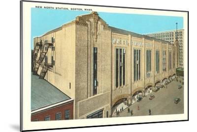 North Station, Boston, Mass.--Mounted Art Print