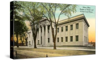 Public Building, Salem, Mass.--Stretched Canvas Print