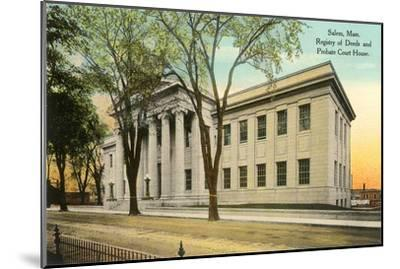Public Building, Salem, Mass.--Mounted Art Print