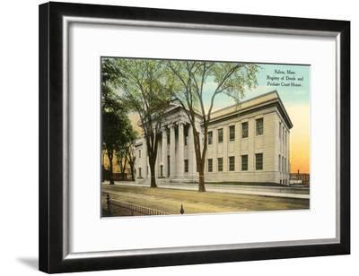 Public Building, Salem, Mass.--Framed Art Print