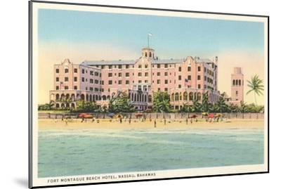 Fort Montague Beach Hotel, Nassau, Bahamas--Mounted Art Print