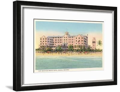 Fort Montague Beach Hotel, Nassau, Bahamas--Framed Art Print
