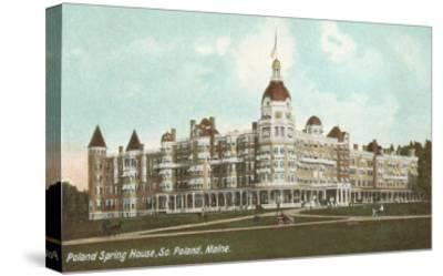 Poland Spring House, South Portland, Maine--Stretched Canvas Print