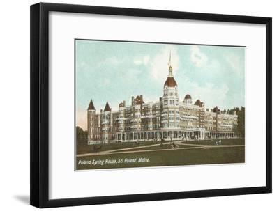 Poland Spring House, South Portland, Maine--Framed Art Print