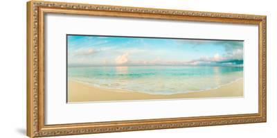 Waves on the Beach, Seven Mile Beach, Grand Cayman, Cayman Islands--Framed Photographic Print