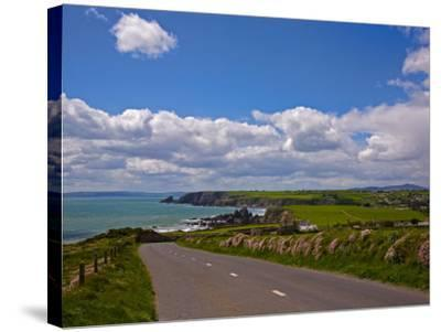 Bunmahon Village, Copper Coast, County Waterford, Ireland--Stretched Canvas Print