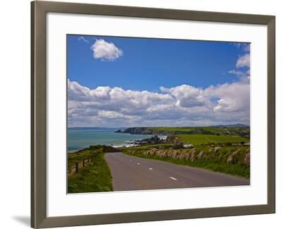 Bunmahon Village, Copper Coast, County Waterford, Ireland--Framed Photographic Print