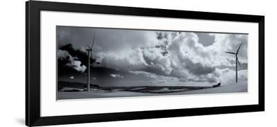 Beallough Windfarm, Above Portlaw, County Waterford, Ireland--Framed Photographic Print