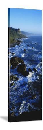 Rocky Coastline in Evening Twilight Near Westport, Redwoods National Park, California, USA-Paul Souders-Stretched Canvas Print