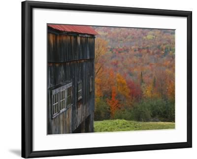 Barn Near Lush Hill, North Landgrove, Green Mountains, Vermont, USA  Photographic Print by Scott T  Smith | Art com