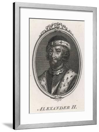 Alexander II King of Scotland 1214-1249--Framed Giclee Print