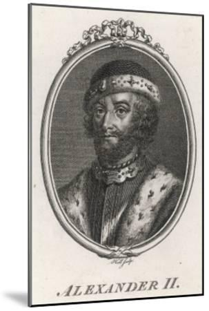 Alexander II King of Scotland 1214-1249--Mounted Giclee Print