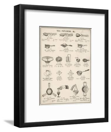 An Assortment of Tea Infusers--Framed Giclee Print