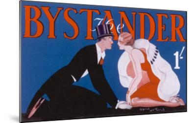 Bystander Masthead by Leon Heron, 1930--Mounted Giclee Print